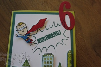 Everyday Hero, Große Zahlen, Stadt Land Gruß, Labeler Alphabet, Stampin' Up, Kuestenstempel.blog