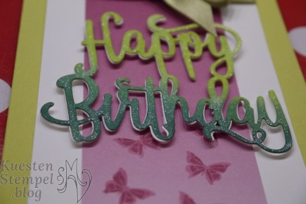 Thinlits Happy Birthday, You move me, Stampin' Up, Kuestenstempel.blog