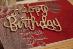 Thinlits Happy Birthday, Kreative Vielfalt, Bunt gemischt, Holzdekor, Kreativkiste, Stampin' Up, Kuestenstempel.blog