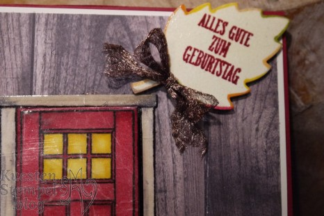 Cracked Glass Technique, Stampin' Blends, Wie zu Hause, Framelits Laub, Herbst Blog Hop Team StempelArt, Stampin' Up, Kuestenstempel.blog