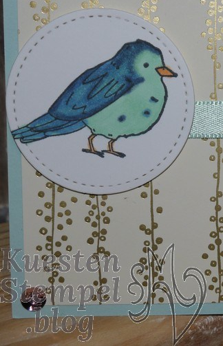 Stampin' Blends, Farbenfroh, Stickmuster, Stadt Land Gruß, Stampin' Up, Kuestenstempel.blog