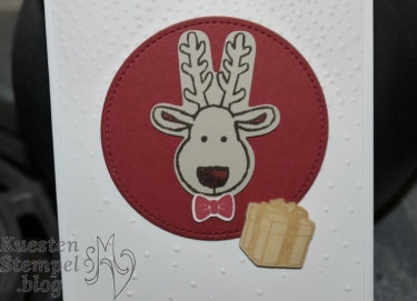 Weihnachten daheim, Elementenstanze Lebkuchenmännchen, Ausgestochen Weihnachtlich, Framelits Stickmuster, Leise rieselt, Stampin' Up, Kuestenstempel.blog