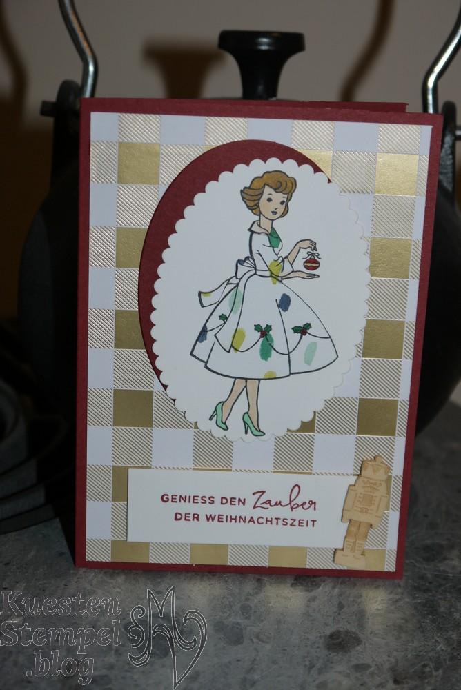 Christmas in the making, Weihnachtlich daheim, Stampin' Blends, Lagenweise Ovale, Winterfreuden, Stampin' Up, Kuestenstempel.blog