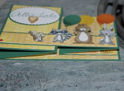 P1330831We must celebrate, Stampin' Blends, Lagenweise Ovale, Luftballons, Partyballons, Donnerwetter, Double Z Fold Card, Party- Pandas, Stampin' Up, Kuestenstempel.blog