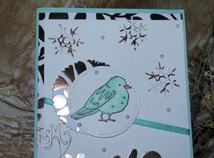 Farbenfroh, Stampin' Blends, Aus jeder Jahreszeit, Stickmuster,Lagenweise Kreise, Designerpapier Winterfreuden, Stampin' Up, Kuestenstempel.blog