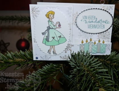 Christmas in the Making, Freude im Advent, Lagenweise Ovale, Stickmuster, Stampin' Blends, Stampin' Up, Kuestenstempel.blog