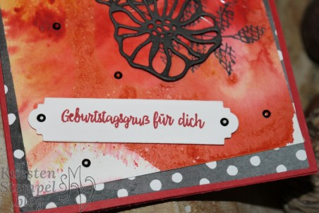 Kreative Vielfalt, Bunt gemischt, Blüten Blätter & Co, Alles Liebe Geburtstagskind, Brusho Crystal Color, Stampin' Up, Kuestenstempel.blog