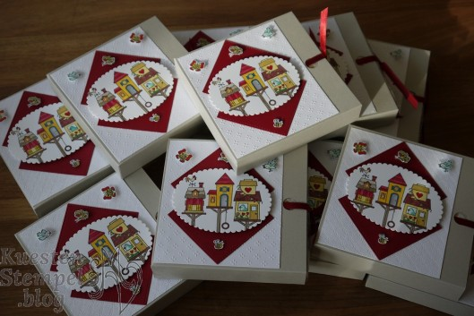 Serviettenziehverpackung, Flying Home, Stickmuster, Lagenweise Ovale, Stampin' Blends, Stampin' Up, Kuestenstempel.blog