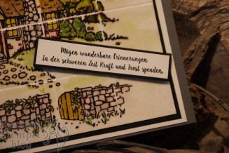 Faux Tile Technique, Landhaus-Idylle, Doppelt gemoppelt, Stampin' Blends, Stampin' Write Marker, Embossing, Stampin' Up, Kuestenstempel.blog