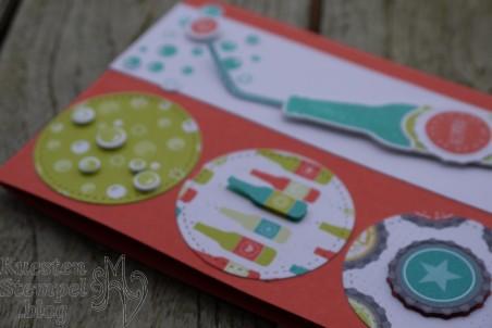 Designerpapier Einfach spritzig, Auf dich, Einfach erfrischend, Framelits Stickmuster, Stampin' Up, Kuestenstempel.blog