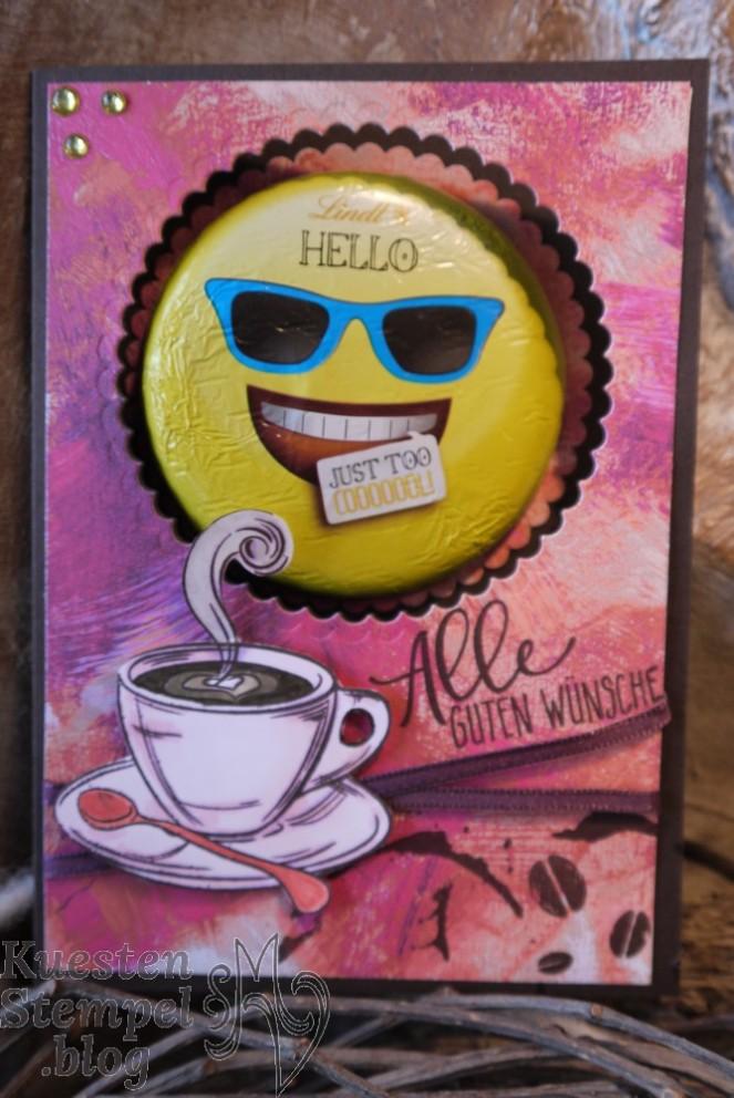 Designerpapier gemalt mit Liebe, Perfekter Geburtstag, Zauberhafter Tag, JustRite Kaffee Haus, Lagenweise Kreise, Stampin' Up, Kuestenstempel.blog
