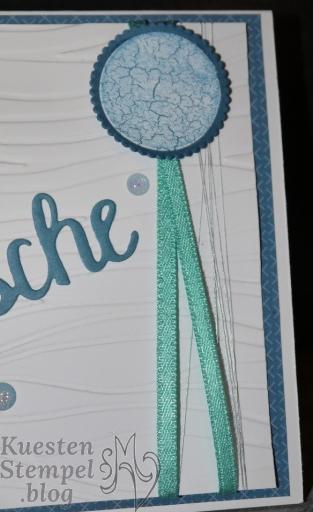 Zauberhafter Tag, Vielseitige Grüße, Märchenhaft, Märchenzauber, Meereswellen, Thinlits Formen Wunderbar, Lagenweise Kreise, Perfekter Geburtstag, Farbenspiel, Stampin' Write Marker, Stampin' Up, Kuestenstempel.blog