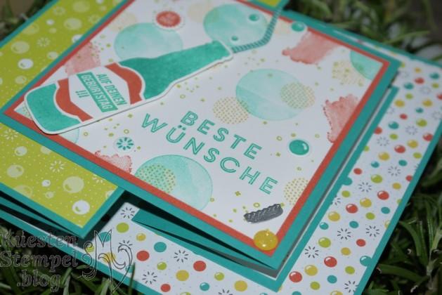 Double Z Joy Fold card, Anleitung, Vielseitige Grüße, Einfach Spritzig, Auf dich, Einfach erfrischend, Stampin' Up, Kuestenstempel.blog