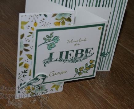 P1340359Beste Wünsche, Blütentraum, Thinlits Blüten Blätter & Co, Stampin' Write Marker, Double Z Joy Fold Card, Designerpapier Allerliebst, Stampin' Up, Kuestenstempel.blog