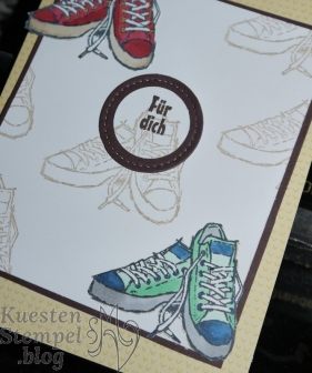 Echt cool, Panda-Party, Karten und Umschläge Tuttifrutti, Stickmuster,Spotlight Technique, Stampin' Blends, Stampin' Up, Kuestenstempel.blog
