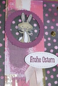 We must celebrate, Blütenfantasie, Stickmuster, lagenweise Kreise, Süßes Häschen, Gemalt mit Liebe, Stampin' Blends, Stampin' Up, Kuestenstempel.blog