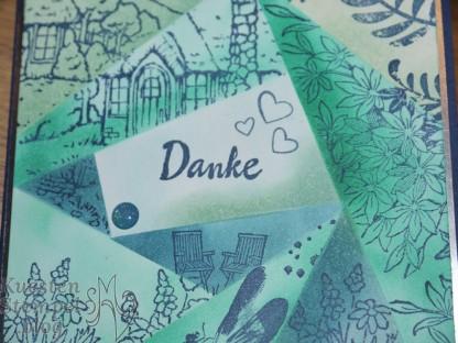 Landhaus-Idylle, Awesome Artistic, Durch die Gezeiten,Blütentraum, Etwas Süßes, Retiform Technique, Stampin' Up, Kuestenstempel.blog