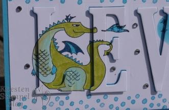 Floating Letters Technique, Zauberhafter Tag, Framelits Große Buchstaben, Blütentraum, Märchenzauber, Geburt, Masking, Stampin' Up, Kuestenstempel.blog