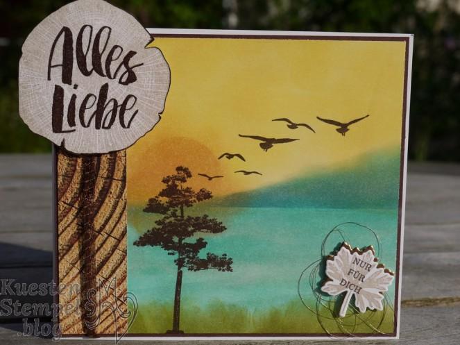 Kraft der Natur, Starke Wurzeln, Holzdekor, Durch die Gezeiten, Stampin' Up, Kuestenstempel.blog