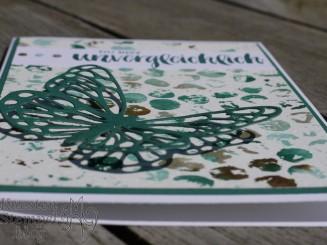 Kraft der Natur, Luftpolsterfolie Technik,Thinlits Schmetterlinge, In-K-Spire_me Challenge, Stampin' Up, Kuestenstempel.blog