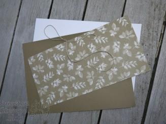 Stempelhausaufgabe, Poesie der Natur, Faux Leather Technique, Stickmuster, Grüße voller Sonnenschein, Holzkiste, Kreativkiste, Blätter-Relief, Stampin`Up, Kuestenstempel.blog
