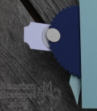 Klappkarte, Geldgeschenk, Hochzeit, Designerpapier Sternenhimmel, Aus der Kreativwerkstatt, Handstanze Sonne, Zier-Etikett, Doppelt gemoppelt, Stampin' Up, Kuestenstempel.blog