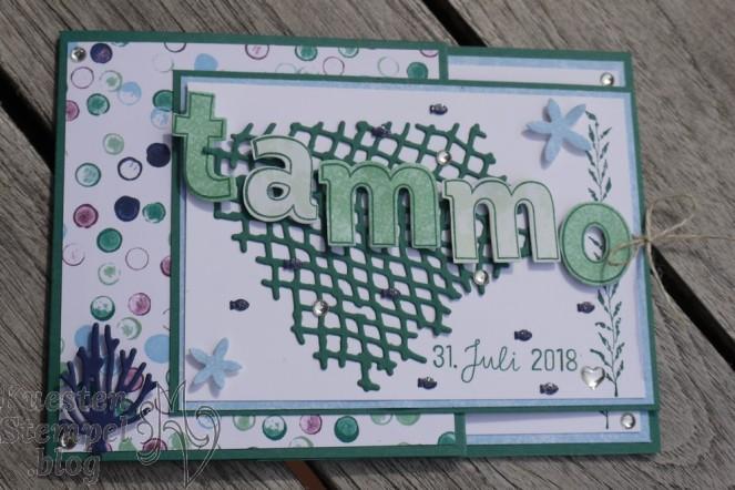 Edgelits Lagenweise Buchstaben, Glück und Meer, Lined Alphabet, Designerpapier Traum vom Meer, Framelits unter dem Meer, Rund ums Datum, Stampin' Up, Kuestenstempel.blog