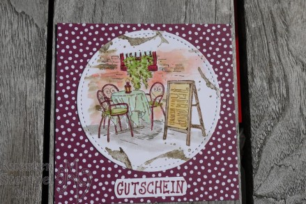 Designerpapier Neutralfarben, Mediterranean Moments, Stickmuster, Gutscheinkarte, Stampin' Blends, Embossing, Aus der Kreativwerkstatt, Grußkollektion, Stampin' Up, Kuestenstempel.blog