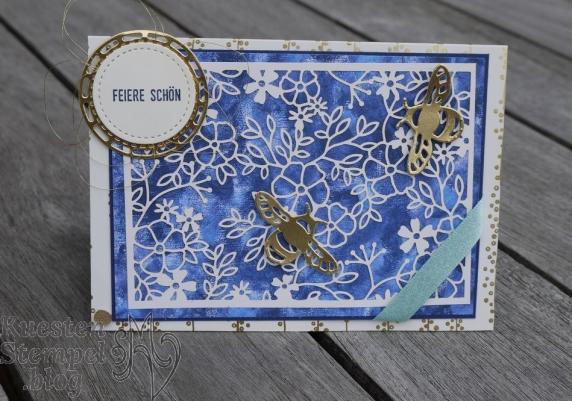 Thinlits Libelle, Stickmuster, Bestickte Etiketten, Spezialpapier fantastisch Filigran, Garten-Impressionen, Klitzekleine Grüße, Stampin' Up, Kuestenstempel.blog