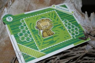 Stempelhausaufgabe, Thinlits Palmengarten, Lagenweise Quadrate, Tierische Glückwünsche, Framelits Tierisch süß, Traumhaft Tropisch, Maschendraht-Akzente, Aus der Kreativwerkstatt, Klitzekleine Grüße,Stampin' Up, Kuestenstempel.blog