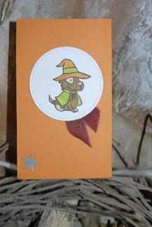 Trick or Tweet, Landleben, Stanz- und Falzbrett fürGeschenktüten, Besonderes Designerpapier Broadway, Grusskollektion, Blog Hop, Flap Fold Card, Stickmuster, Stampin' Up, Kuestenstempel.blog