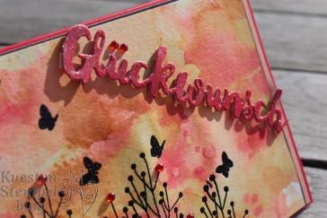 Ink Smooshing Technique, Enjoy Life, Embossing, Grüsse voller Sonnenschein, Poesie der Natur, Stampin' Up, Kuestenstempel.blog
