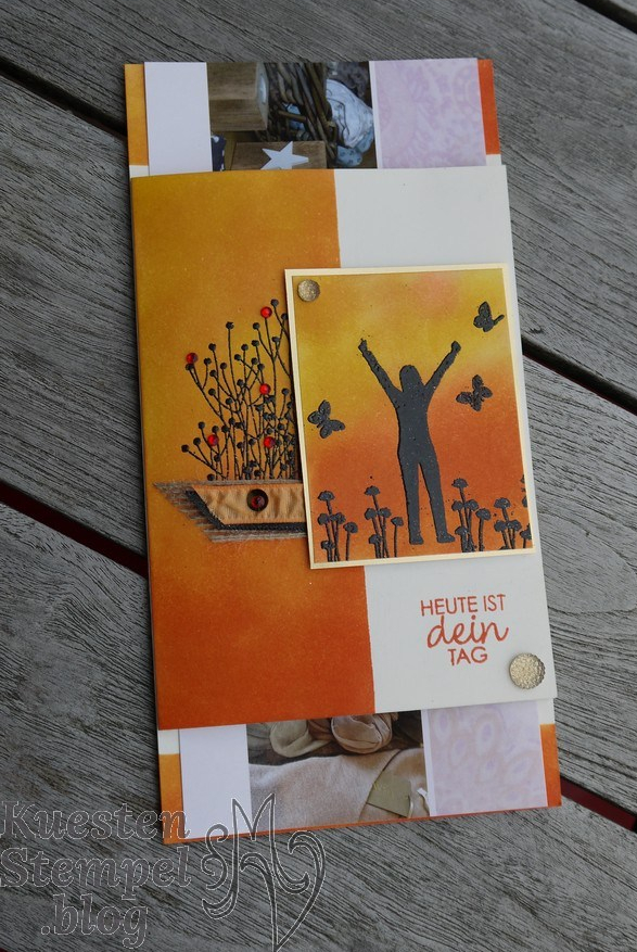 Enjoy Life, Glück per Post, Liebevolle Details, Embossing, Stampin' Up, Kuestenstempel.blog