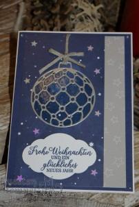 Wintermärchen, Hüttenromantik, Bezaubernder Baumschmuck,Sternenhimmel, Weihnachten, Stampin' Up, Kuestenstempel.blog