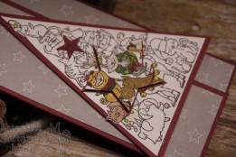 Weihnachtswerkstatt, Wintermärchen, Weg zum Weihnachtsmann, Sternenhimmel, In der Weihnachtswerkstatt, Hüttenromantik, Weihnachten, Santa Paws, Stampin' Up, Kuestenstempel.blog