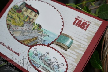 Haus am Meer, Sale a Bration 2019, Stampin' Write Marker, Stampin' Blends, Geburtstagsmix, Frühjahr- Sommerkatalog 2019, Blog Hop Team Geschtempelt, Stampin' Up, Kuestenstempel.blog