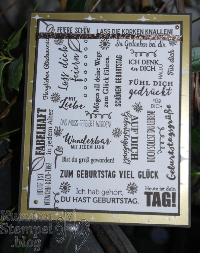 Geburtstagsmix, Klitzekleine Grüße, Liebvolle Details, Haus am Meer, Blüten des Augenblicks, Designerpapier Broadway, Stampin' Up, Kuestenstempel.blog