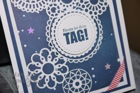 Geburtstagsmix, Lasergeschnittenes Spezialpapier Fantastisch Filigran, Designerpapier Sternenhimmel, Stickmuster, Stampin' Up, Kuestenstempel.blog