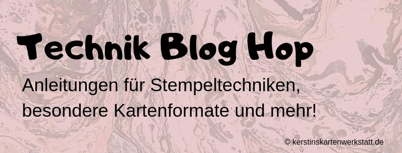 Technik Blog Hop, Black Ice Technique, Embossing, Werkstattworte, Sale a Bration, Froschkönig, Geburtstagsmix, Stanz-Box Exquisite Etiketten, Stampin' Blends, Kreisstanzen, Anleitungen, Stampin' Up, Kuestenstempel.blog