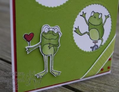Froschkönig, Stampin' Blends, kleine Wünsche, Lagenweise Kreise, Stampin' Up, Kuestenstempel.blog