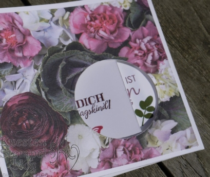 Peek-a-boo-window-card, Voller Schönheit, Geburtstagsmix, Schöne Schmetterlinge, Blätter-Relief, Blütenprackt, Lagenweise Kreise, Stampin' Up, Kuestenstempel.blog