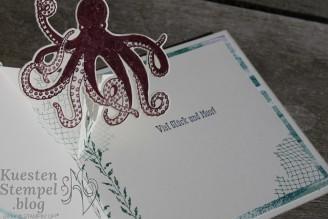 Diagonal Pop Up Card, Glück und Meer, Unter dem Meer, Bokeh Dots, Traum vom Meer, Wunderbarer Tag, Stampin' Up, Kuestenstempel.blog