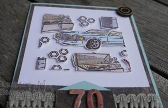 Floating Frame Technique, Männerkarte, Werkzeugteile, Colorieren, Werkstattworte, Wortreich, Mini Zahlen, Stampin' Blends, Stampin' Up, Kuestenstempel.blog