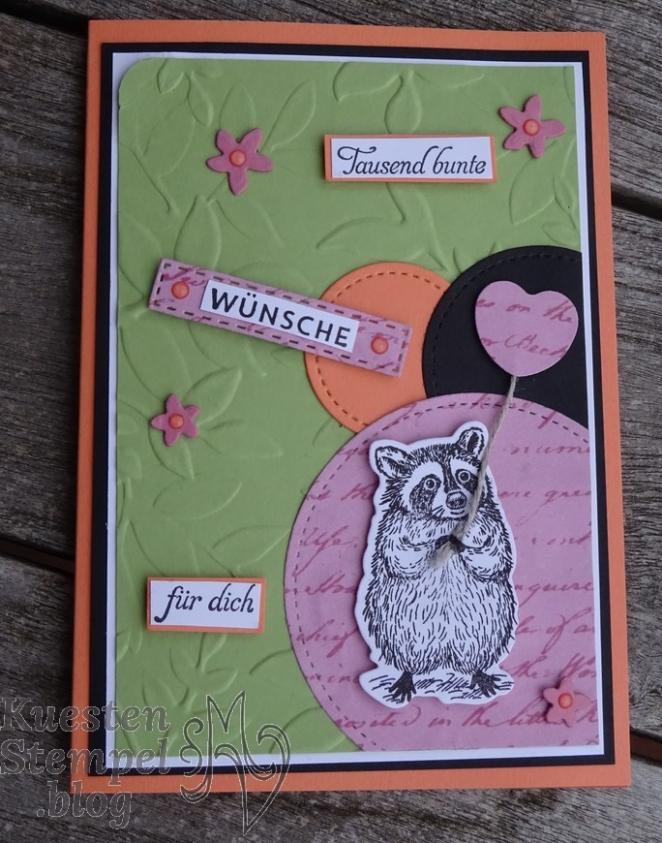 Special Someone, In(K)Spire_me, Schwärme voll Glück, Stanzformen schöner Tag, Stickmuster, Blüten der Erinnerung, Blätter-Relief, Stampin' Up, Kuestenstempel.blog