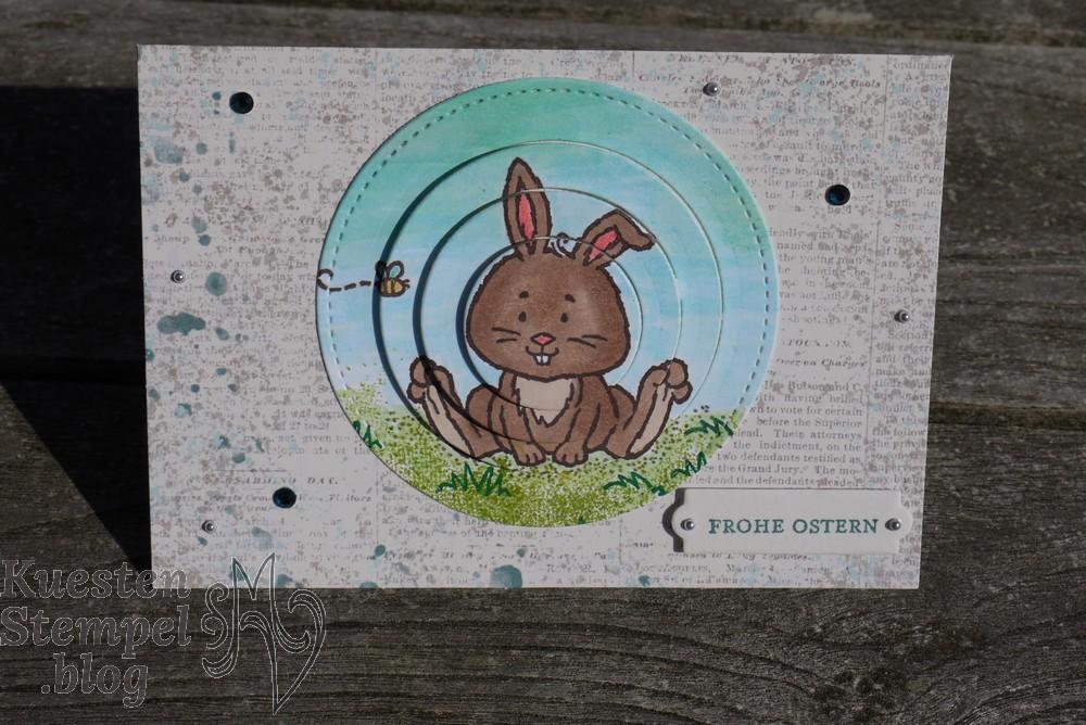 Telescoping Card, Klitzekleine Grüße, Colorieren, Osterschatz, Lagenweise Kreise, Stickmuster, Stempin'Blends, Stampin'Write Marker, Stampin' Up, Kuestenstempel.blog