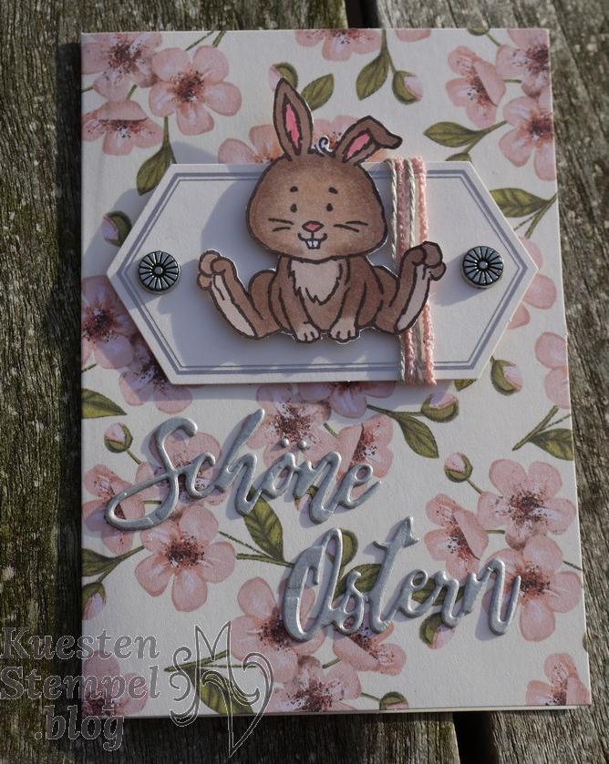 Osterschatz, Colorieren, Wunschworte, Paper Pumkin Set Gruss & Kuss von Shelli, Stampin' Blends, Stampin' Up, Kuestenstempel.blog