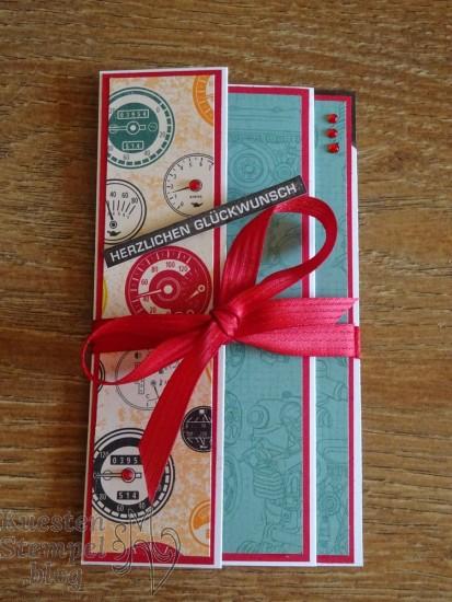 Fanfare Fold Card, Alles im Block, In der Werkstatt, Stampin' Up, Männer, Kuestenstempel.blog