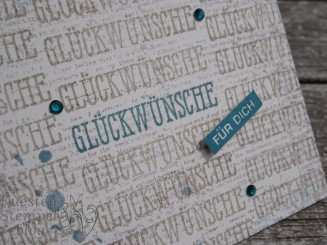 Gut gesagt, alles im Block, schlicht, Wordart, Stampin' Up, Kuestenstempel.blog